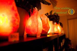Salt Lamp 100% natural and pure Himalayan Salt