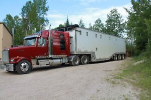 Western Star Truck and Manac Trailer for sale, wanting to retire