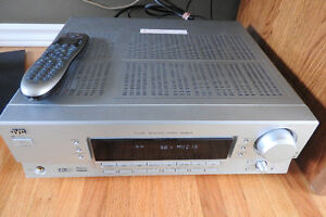 JVC RX-6042 5.1 channel Receiver, 2 optical, harmony 650 remote