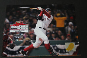 MLB - Boston Red Sox vintage Jason Varitek 2004 photo