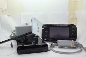 Wii U 32GB Deluxe Console - Modded with Homebrew - Mint
