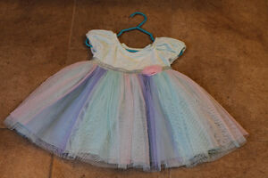 The Children's Place teal dress (12-18 M)
