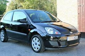 2006/56 FORD FIESTA 1.2 STYLE IN BLACK.GOOD SERVICE HISTORY PLUS CAMBELT CHANGED