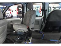 Kangoo Internal Transfer from Wheelchair to drive Car, disabled driver vehicle