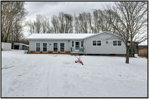 Renovated Bungalow on 8.26 Acres with Lake Views