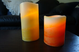 Artificial candles and Tealight candle holders