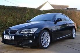 2013 BMW 3 SERIES 330D M SPORT COUPE AUTO COUPE DIESEL