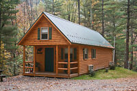 Looking to make contact with a local cabin builder