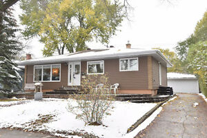 Updated Bungalow in Hillsdale with Double Garage