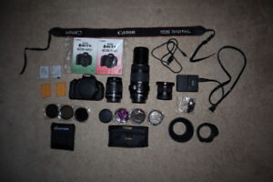 Canon EOS Rebel T3i, 18-55mm, 70-300mm, 52mm Wide, PLUS MORE!!!