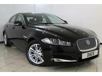 2012 62 JAGUAR XF 2.2 D LUXURY 4DR AUTOMATIC 190 BHP DIESEL