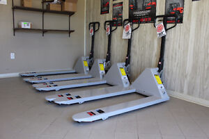 Brand New Pallet Jacks - 5500 lb. Capacity