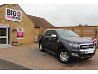 2016 FORD RANGER TDCI 197 LIMITED 4X4 DOUBLE CAB WITH ROLL'N'LOCK TOP PICK UP DI