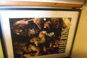 AS I LAY DYING SIGNED POSTER AND TICKET
