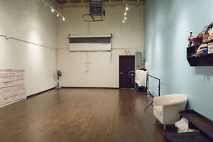 Looking for a large studio space ideal for fitness classes?