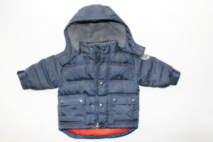 GAP. Boy Puffer Jacket, Size 12-18 M + Gloves, 2 x Hats