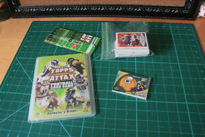 Football Cards with Topps Attax Collector Binder