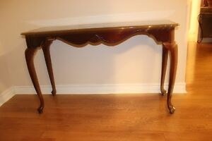 Queen Anne Sofa Table/Hall Table