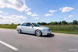 1997 Audi A4, highly modified