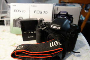Canon DSLR Camera/Lenses/Flashes