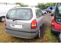 2003 VAUXHALL ZAFIRA ELEGANCE DTI 16V MPV DIESEL