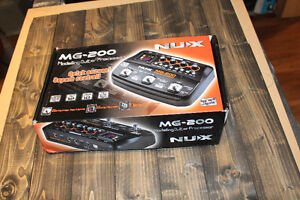 Nux MG-200 multi effets guitare