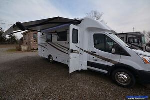 2018 Forest River Sunseeker 2370S Ford Transit Diesel with Slide