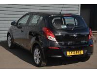 2013 Hyundai i20 1.2 Active (85 PS) Petrol black Manual