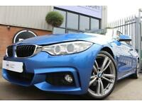 2014 64 BMW 4 SERIES 2.0 420D M SPORT 2D-PRONAV HEATED LEATHER-19
