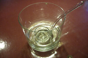 Crystal Punch Bowl and Ladle