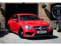 2015 Mercedes-Benz E-CLASS 2.1 E220 BLUETEC AMG LINE PREMIUM 2d AUTO 174 BHP Cou
