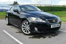 2006 06 LEXUS IS 2.5 250 SE-L 4D 204 BHP