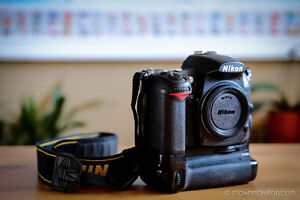 Nikon D7000 with Vertical Battery Grip, battery & 16 MB SD card