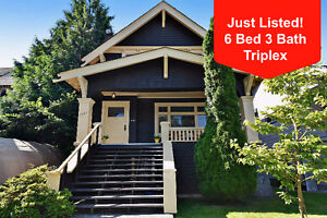 6 bed - Triplex House For Sale in Vancouver - See VIDEO