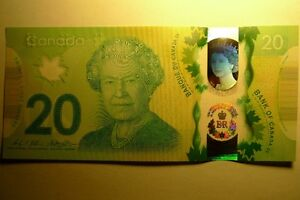 CANADA $20 2015 COMMEMORATIVE *NEW* POLYMER - UNC BANK NOTE