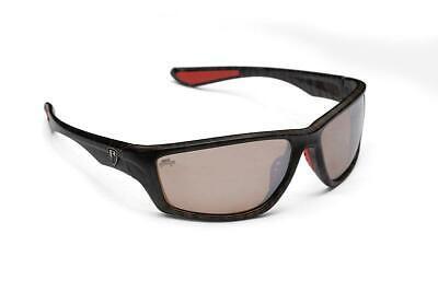 Fox Rage Eyewear Camo Frame - Brown Lens Mirror / Polarised Sunglasses