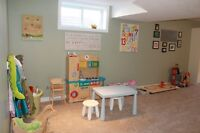 Childcare Space in Lackner Woods- Under 24 Months Accepted