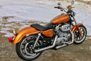 "2014 HARLEY DAVIDSON SPORTSTER XL 883 L ""SUPERLOW"" FOR SALE"