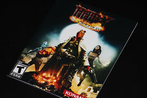PS3-HELLBOY-THE SCIENCE OF EVIL-MANUAL ONLY (COMPLETE YOUR GAME)