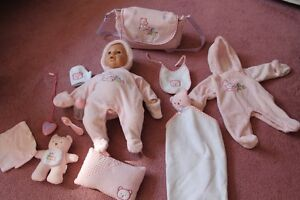 Interactive baby with accessories