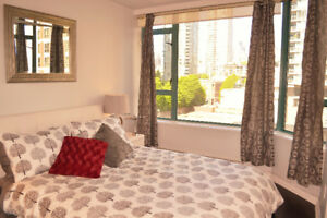 Luxury Furnished Yaletown Apartment for Rent
