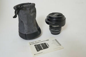 Canon EFS 10-22mm lens modified to fit full frame camera too