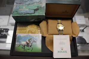 Rolex Datejust 18k Gold & Stainless Steel 36mm Model 16233