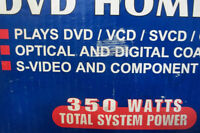DVD HOME THEATRE 5.1  ELECTROHOME     STEREO