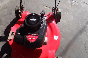 mtd lawnmower with briggs and stratton engine tuned up