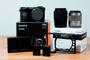 Sony A6500 Filmmaker Kit (Sigma 30mm + Sony 50mm)