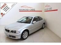 2003 03 BMW 3 SERIES 2.2 320CI SE 2D 168 BHP