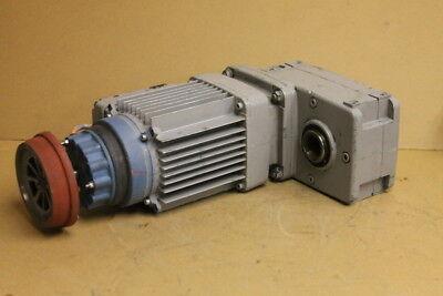 """Offset gearmotor, 275 ftlb 59RPM 1 3/8"""" Hollow shaft AUH30DD-ZBA90A4 Demag Crane"""