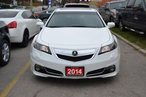 2014 Acura TL 6-Speed AT Sh-Awd With Tech Package and