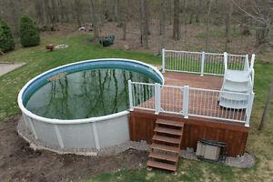 Piscine hors tout 21 spa et piscine dans grand montr al for Chauffe eau piscine hors terre prix